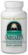 OmegaEPA Fish Oil (1,000 mg-200 softgels) Source Naturals