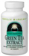 Green Tea Extract (500 mg-120 tabs) Source Naturals
