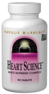 Heart Science (120 tabs)* Source Naturals