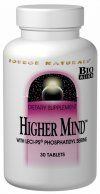Higher Mind (120 tabs)* Source Naturals