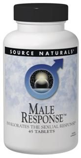 Male Response and Vitality (90 tabs) Source Naturals
