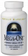 Mega-One Multiple (90 tabs)* Source Naturals