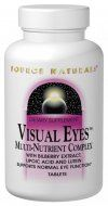Visual Eyes (120 tabs) Source Naturals