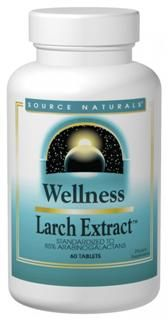 Wellness Larch Extract (1,000 mg-60 tabs)* Source Naturals