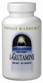 L-Glutamine Powder (100 gm) Source Naturals