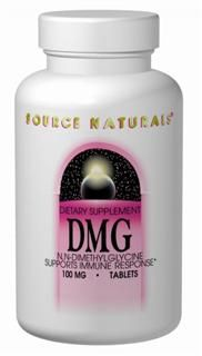 DMG (100 mg-30 tabs) Source Naturals