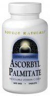 Ascorbyl Palmitate (500 mg 180 tabs) Source Naturals