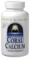 Coral Calcium (600 mg 120 tabs)* Source Naturals