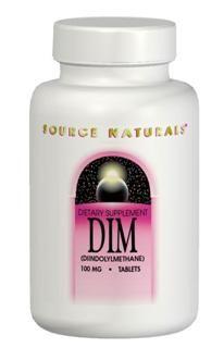 DIM (100 mg 60 tabs)* Source Naturals