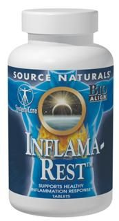 Inflama-Rest (90 tabs) Source Naturals