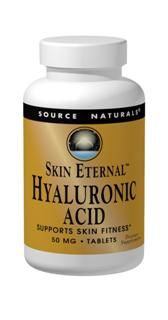 Skin Eternal Hyaluronic Acid 50mg (120 tabs) Source Naturals