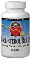 Cholesterol Rescue (604 mg 30 tabs) Source Naturals