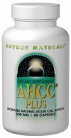 AHCC Plus (250 mg 60 caps) Source Naturals