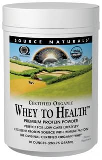 Whey to Health (10 oz) Source Naturals