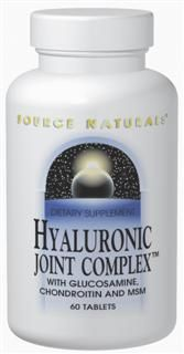 Hyaluronic Joint Complex (120 tabs) Source Naturals
