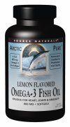 ArcticPure Lemon Flavored Omega-3 Fish Oil (800 mg 120 softgels) Source Naturals