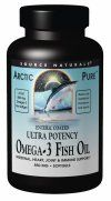 ArcticPure Enteric Coated Ultra Potency Omega-3 Fish Oil (850 mg 120 softgels) Source Naturals