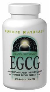 EGCG (350 mg 120 tabs)* Source Naturals