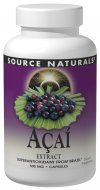 Acai Extract (500 mg 120 caps) Source Naturals