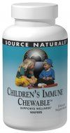 Children Immune Chewable (60 wafers) Source Naturals