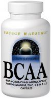 BCAA (733 mg 120 caps) Source Naturals