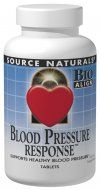 Blood Pressure Response (120 tabs) Source Naturals