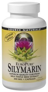 EuroPure Silymarin (200 mg 120 vegicaps) Source Naturals