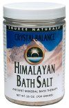 Himalayan Bath Salt by Crystal Balance (16 oz) Source Naturals