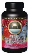 ArcticPure Omega-3 EPA/DHA Berry Softchews (160 mg-50 softchews) Source Naturals