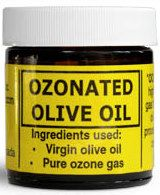 Ozonated Olive Oil 50 mL Jar Ozone Services