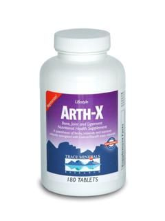 Arth-X (vegetarian 90 Tabs) Trace Mineral Research