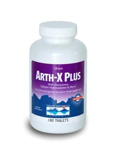 Arth-X Plus - 522 mg Glucosamine Sulfate (90 Tabs) Trace Mineral Research