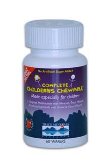 Complete Children's Chewable (60 wafer) Trace Mineral Research