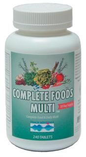 Complete Foods Multi  (240 tab) Trace Mineral Research