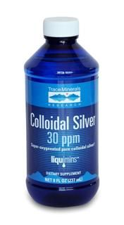 Colloidal Silver  (8 oz) Trace Mineral Research