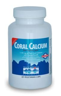 Coral Calcium w/ConcenTrace (60 caps) Trace Mineral Research
