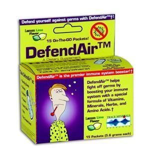 DefendAir  (1 box/15 packets) Trace Mineral Research