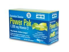 Electrolyte Stamina Power Pak - Lemon Lime Flavor (1 box/ 32 packets) Trace Mineral Research