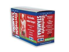 Electrolyte Stamina Power Pak Raspberry Flavor (1 box/ 32 packets) Trace Mineral Research