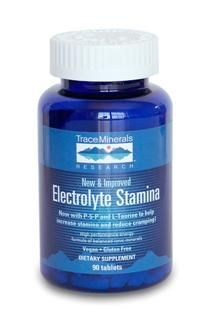 Electrolyte Stamina Tablets (90 Tabs) Trace Mineral Research