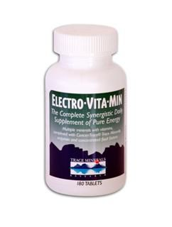 Electro-Vita-Min (180 Tabs) Trace Mineral Research