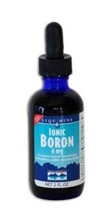 Liquid Ionic Boron - 6 mg (2 oz) Trace Mineral Research
