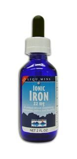 Liquid Ionic Iron - 22 mg (2 oz) Trace Mineral Research