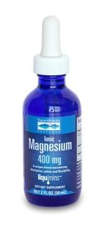 Liquid Ionic Magnesium - 400 mg (2 oz) Trace Mineral Research