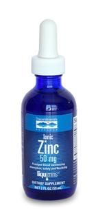 Liquid Ionic Zinc - 50 mg (2 oz) Trace Mineral Research