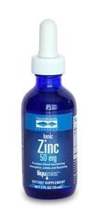Liquid Ionic Zinc - 50 mg (2 oz) Trace Mineral Research