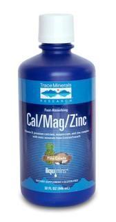 Liquimins Cal-Mag-Zinc (32 oz) Trace Mineral Research