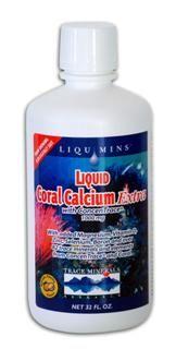 Liquid Coral Calcium Extra Orange Vanilla(32 oz) Trace Mineral Research