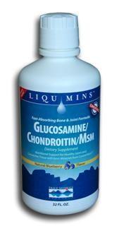 Liquid Glucosamine/Chondroitin/MSM (32 oz) Trace Mineral Research