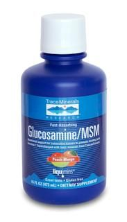 Liquid Glucosamine/MSM (16 oz) Trace Mineral Research